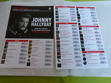 JOHNNY HALLYDAY - DICOGRAPHIE 2017 !!! RARE PLAN MEDIA !!!!
