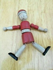 1930's Jaymar Wood + String Jointed Doll, Little Orphan Annie, Harold Gray