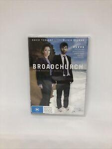 BROADCHURCH DVD Region 4 UK TV Show Brand New Sealed FREE SHIPPING