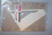 ORIGINAL   Sticker / autocollant YAMAHA 5BK-F424A-10 DR50 2002 Raspberry Red