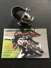 "Triumph BSA Norton Classic Bike Cafe Racer Chrome Horn Kill Switch For 1"" Bars"