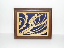 Handcrafted Framed Surfer- Perfect Gift for the Surfer