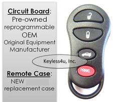 New 300 M 02 03 04 04602268 remote keyless control transmitter clicker opener
