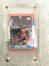 Michael Jordan 1986/87 Fleer #57 OC Rookie Card Chicago Bulls