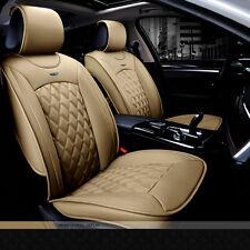 NEW Sport Car Full Seat Winter Warm PU Leather Car Seat Cover Set Cushion Luxury