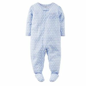 Carter's Toddler Girl Geometric Footed Pajamas Sleeper - 5T -NEW - FREE SHIPPING