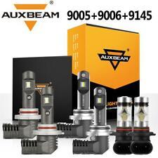 6xAUXBEAM 9005 9006 9145 Combo LED Headlight Bulbs for Jeep Grand Cherokee 05-10
