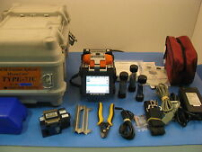 Sumitomo TYPE-71C, Direct Core Monitoring Fusion Splicer, w/ FC-6S Cleaver T-71C