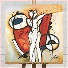 Abstract Canvas Large Framed Box Print Picture Endless Love By Alfred Gockel Art