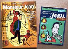 EO 1998 Dupuy & Berbérian : MONSIEUR JEAN #4 (Vivons heureux...) avec son COMICS