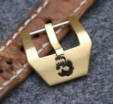 20mm Uhren-Schließe Buckle Totenkopf Skull Neu Kuper Legierung f Vintage Straps
