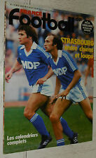 FRANCE FOOTBALL 1737 24/07 1979 RC STRASBOURG GRESS PRESENTATION D1 MONTMORILLON