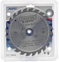 Genuine DRAPER Expert TCT Saw Blade 180X30mmx24T 9468