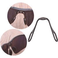 1X aluminum anti-slip stick on nose pads pad holder for eyeglass sunglasses RD