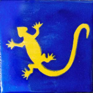 C#122) MEXICAN TILES CERAMIC HAND MADE SPANISH INFLUENCE TALAVERA MOSAIC ART