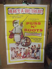 PUSS N' BOOTS, orig 1-sh / movie poster []