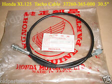 Honda XL125 XL250 Tacho Cable NOS Tachometer Wire 37260-365-000 REV COUNTER WIRE