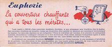 Buvard Vintage  Euphorie Couverture Chauffante