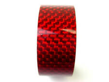 "Bike Bicycle Headset Stem RED Carbon Spacer 1-1/8"" 15mm"