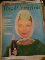 1964 ROYAL CROWN COLA   a fresher refresher ,ad