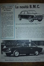 ARTICOLO HILLMAN IMP ZAGATO -  1964