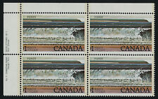 Canada 726 TL Block Plate 1 MNH Fundy National Park