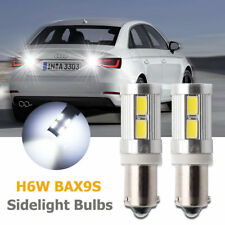2Pcs H6W Sidelight LED Bulbs Xenon Canbus Light Set Kit BMW 3 series F30 F31 F34