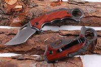 New Karambit Sharp Knife Liner lock Saber Outdoor Camping potable tool Gift