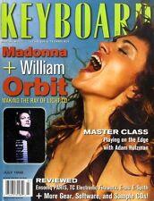 (286) KEYBOARD MAGAZINE MADONNA COVER, WILLIAM ORBIT, ADAM HOLZMANWALLFLOWERS