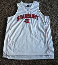 VINTAGE NBA STARBURY # 3 BEN WALLACE BASKETBALL JERSEY  MEN'S  X LARGE  STITCHED