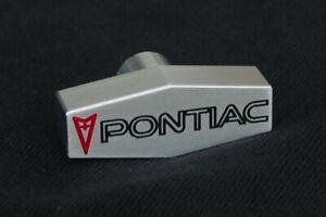 PONTIAC Custom Billet Aluminum Air Cleaner Wing Nut  CNC Engraved Arrowhead Logo