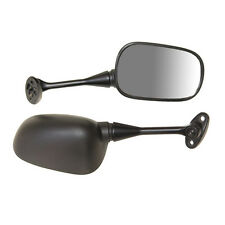 EMGO OEM Replacement Mirror for 03-06 Honda CBR600RR Right Side Black (20-35221)