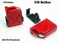 1:10 RC  Rock Crawler Scale Accessory Gas Cans 2pcs (1 Pair) SHIPS FROM USA