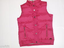 Roxy Design Weste (M) schön+warm Damen Explore Weste,Rose Red ERJJK03038 NEU