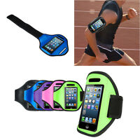 For iPhone 5 5s Armband Case Sport Gym Running Exercise Arm Band Holder Strap