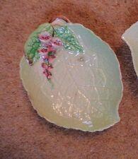 Carlton Ware shallow dish Australian Design foxglove leaf hand painted 1950-1960