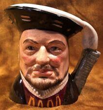 "Vintage Royal Doulton Toby Character Mug Jug ""Henry Viii"" #D6647 - 1975"