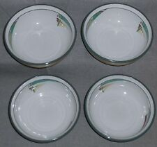Set (4) Noritake Stoneware NEW WEST PATTERN Soup/Cereal Bowls