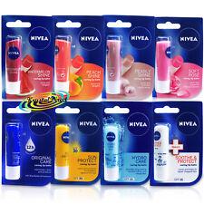 Nivea Essential Long Lasting Moisturising Lip Balm Stick Dry Chapped Lip Care