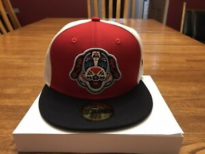 Salem San Bernardos New Era Copa Diversion 59FIFTY 7 1/8 Fitted Hat - Red Sox🔥