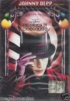 Dvd **LA FABBRICA DI CIOCCOLATO** con Johnny Depp nuovo sigillato 2005