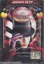 Dvd **LA FABBRICA DI CIOCCOLATO** con Johnny Deep nuovo sigillato 2005