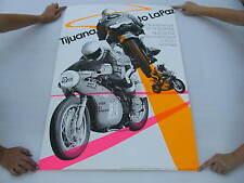 Original 1974 Harley Davidson Race Poster Tijuana to LaPaz Larry Bornhurst