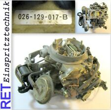 Vergaser 026129017B Audi 80 / VW Passat original