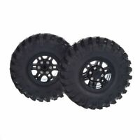 "Scale Crawler 1.9"" Wheel Rims Beadlock With 108mm Tires Set for 1:10 RC Crawler"