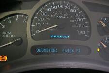 SPEEDOMETER GAUGE CLUSTER SIERRA YUKON DENALI 03 04 MILES 46486