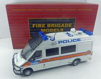 Fire Brigade Models 2003 Mercedes London Metropolitan Police Sprinter Van  1/43