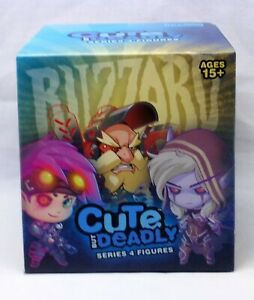 Blizzard Cute But Deadly Figure Series 4 Brand New Sealed Box