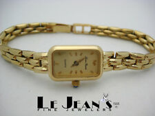 Lucien Piccard womans watch in 14K Yellow Gold