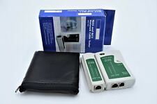 RJ45 and RJ11 Network Cable Tester in Carry Case NEW Boxed